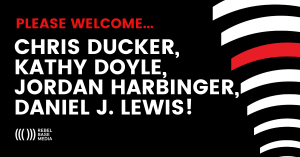 Please Welcome Chris Ducker, Kathy Doyle, Jordan Harbinger & Daniel J. Lewis!