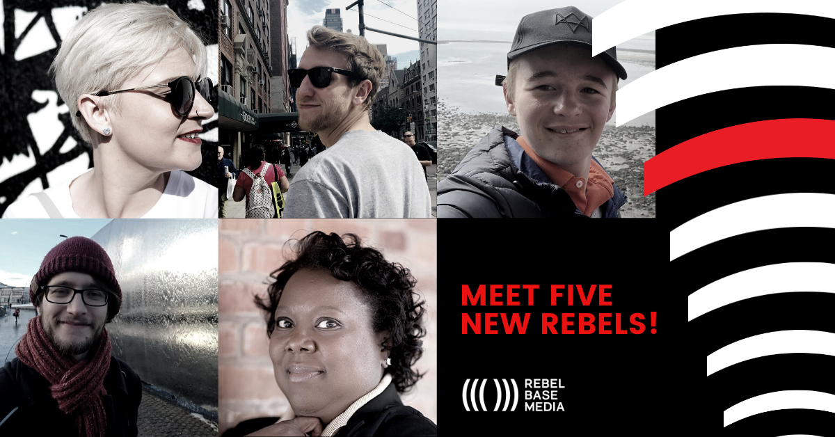 Rebel Base Media Podcasting Team Expansion Feb 2020