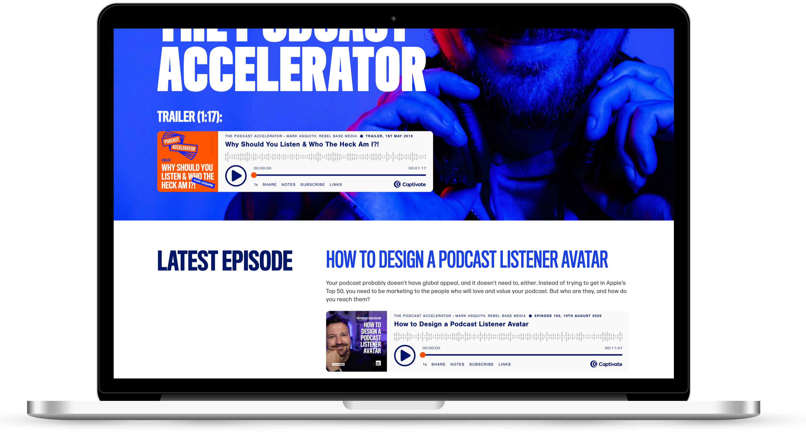 Podcast Websites by Rebel Base Media