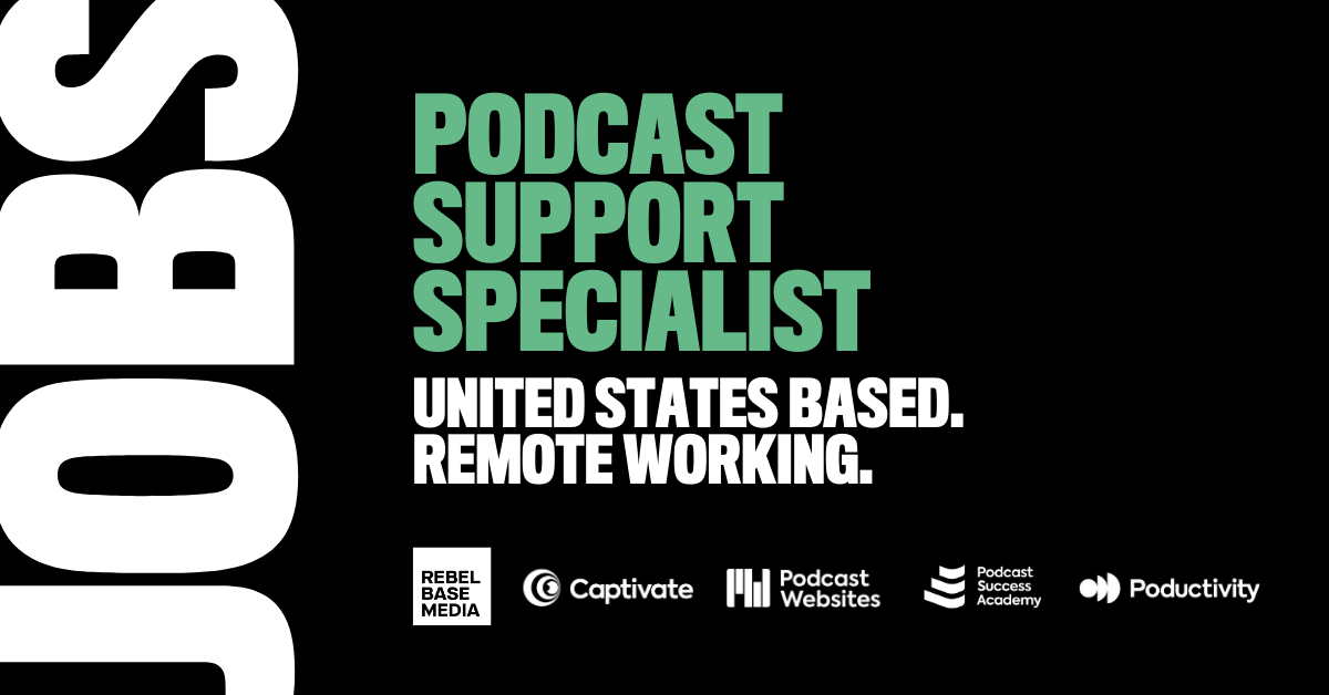 Rebel Base Media poodcast support specialist